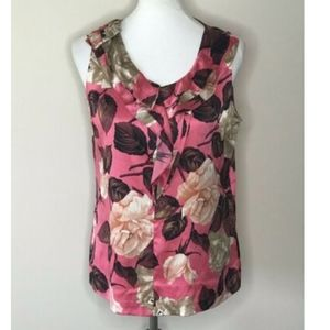 Talbots Sleeveless Silk Top